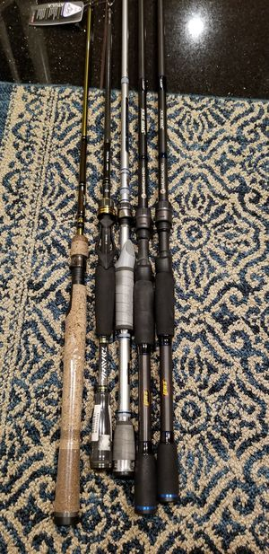 Bass fishing Rods for Sale in Alamo, CA