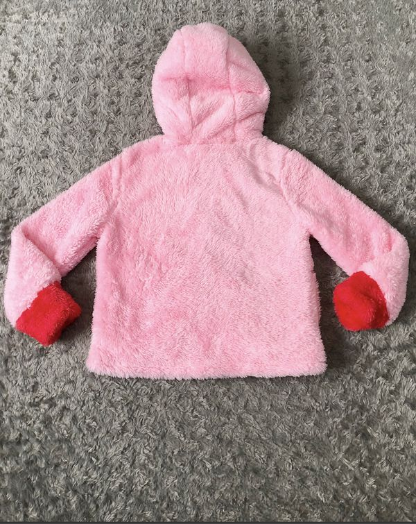 New! Girls Disney Tsum Minnie Fluffy Hoodie Paid $36 size 4T Brand new! Pink Tsum Girl Hoodie/Jacket. Super cute embroidered Minnie Mouse Character o