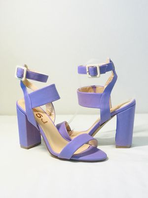 FSJ Size7.5 Brand New Block Heel Sandals Ankle Strap Heels for Sale in Las Vegas, NV