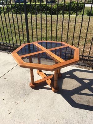 Octagon Dining Table for Sale in Bonita Springs, FL