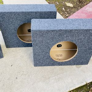 ($70) New Set Of 10 inch Sub / Single Cab Truck Boxes for Sale in Sanger, CA