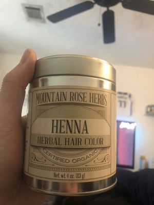 Mountain Rose Herbs Henna Herbal Hair Color for Sale in Houston, TX