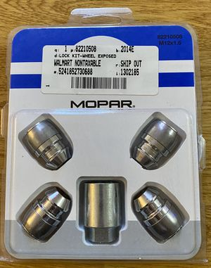 Mopar Wheel Locks Part #82210508 for Sale in Aurora, CO