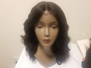 """20"""" Brazilian human hair Bodywave 3bundles with 18 closure customized handmade wig for Sale in Oxon Hill, MD"""