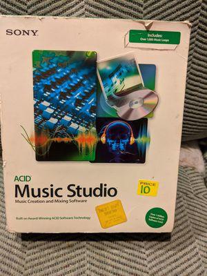 Sony music studio software for Sale in Las Vegas, NV
