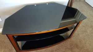 Glass Shelved TV Stand for Sale in Ravensdale, WA