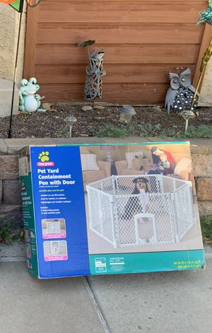1 pet yard Containment $30 for Sale in Lakewood, CO