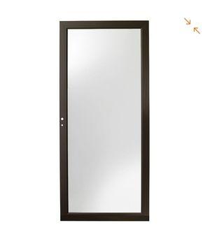 3000 Series White Left-Hand Fullview Easy Install Aluminum Storm Door 32×80 for Sale in Rockville, MD