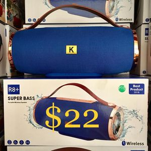 Bluetooth Wireless Rechargeable Speaker for Sale in Montebello, CA