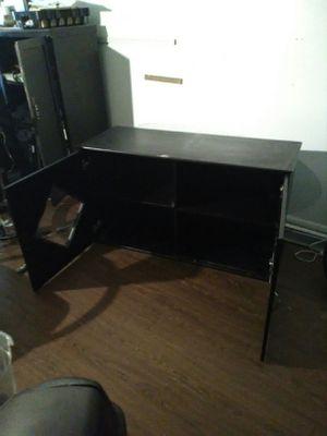2door black floor cabinet for Sale in Austin, TX