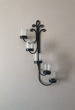 2 Black Candle Sconces for Sale in Parma Heights, OH