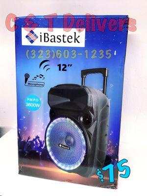 Mucho Party 💥 BASS - Bluetooth - Portatil • Recargable • Nueva • 🎤 Incluido • 3,600 Watts De Musica for Sale in Los Angeles, CA