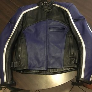 Woman's Leather Motorcycle Jacket Joe Rocket for Sale in Highland, CA