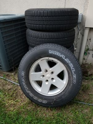 Jeep Wrangler Wheels for Sale in Kissimmee, FL