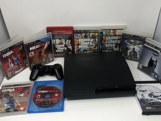 PS3 Grand Theft Auto NBA Batman Bundle for Sale in Carson,  CA