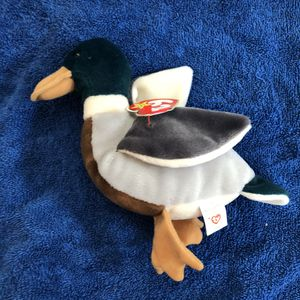 Duck beanie baby with tag for Sale in St. Helens, OR