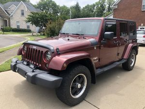2007 Jeep Wrangler Sahara for Sale in Murfreesboro, TN