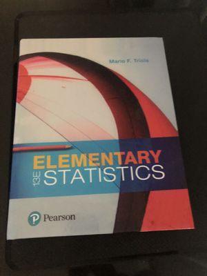 Elementary Statistics Book for Sale in Commerce, CA