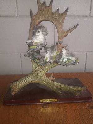 Wolf statue for Sale in Wauchula, FL