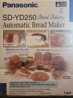 Panasonic Automatic Bread Maker for Sale in Miramar, FL