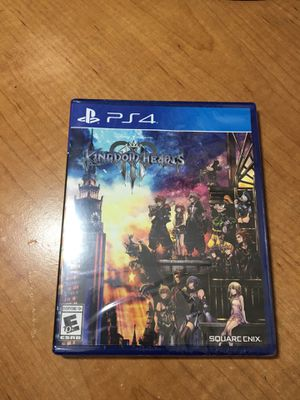 Kingdom Hearts III - PS4 Brand New for Sale in Elk Grove, CA