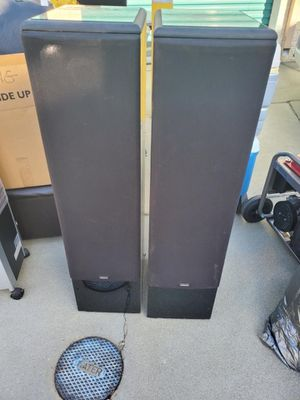 Yamaha Speakers with black lacquer finish for Sale in Ontario, CA