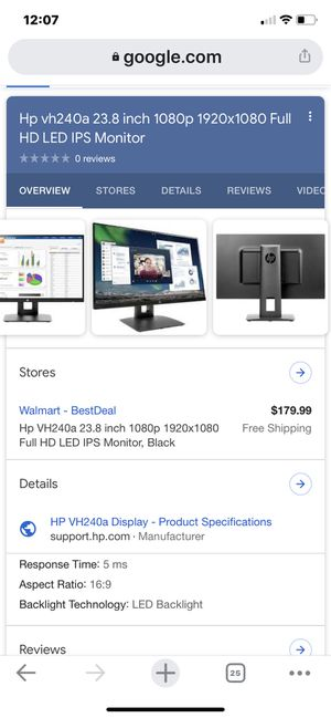 Computer monitor for Sale in Woodhaven, MI