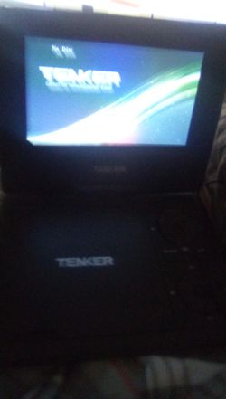 Portable dvd player with 34 dvd for Sale in Bakersfield,  CA