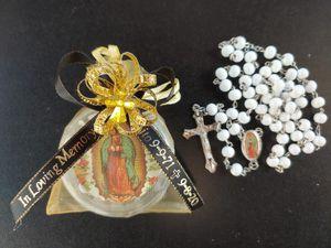 Rosario de aroma color blanco for Sale in Whittier, CA
