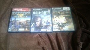 PlayStation ps2 games lot for Sale in Spring Valley, CA