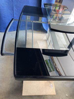 Glass desk for Sale in Downey, CA