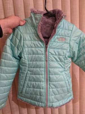 North Face Reversible Mossbud Swirl Fleece: Girls Small for Sale in San Diego, CA