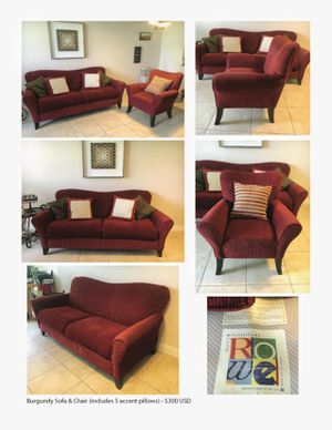 BEAUTIFY YOUR PLACE WITH THIS UNIQUE (and AFFORDABLE) SOFA& CHAIR for Sale in Hialeah, FL
