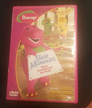 Barney Best Manner DVD for Sale in Columbia, SC
