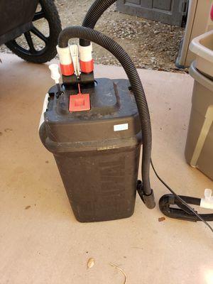 Fluval 406 filter fish tank aquarium pump saltwater or fresh for Sale in Oceanside, CA