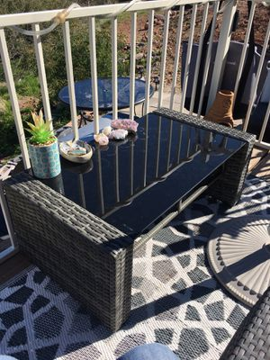 Small patio coffee table for Sale in Young, AZ
