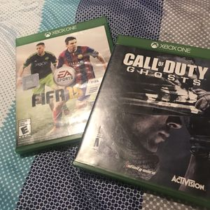 2 game Xbox one x $18 for Sale in Stockton, CA