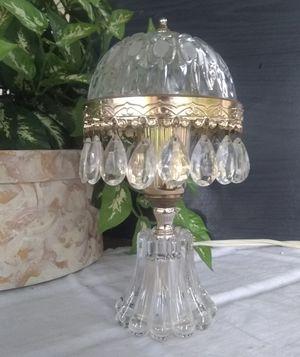 Vintage Holland Crystal Prism Boudoir Lamp for Sale in Mason, OH