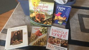 Weight watchers and cooking books for Sale in Owings Mills, MD