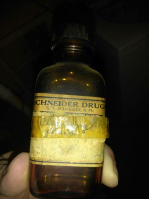 Antique glass medicine bottle for Sale in St. Louis, MO