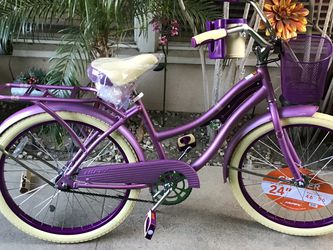 """Brand New Huffy Beach Cruiser Bike Size 24"""" Ready To Ride for Sale in Lakewood,  CA"""