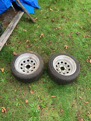 "4x114 15"" drift spares Dunlop star spec tires for Sale in Des Moines, WA"