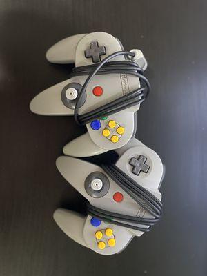 Nintendo 64 (N64) Controllers Original for Sale in South Gate, CA
