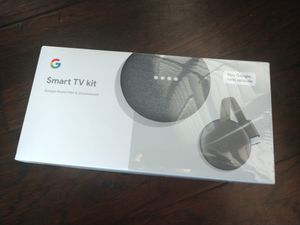Google Smart TV Kit - Home Mini and Chromecast for Sale in Bryan, TX