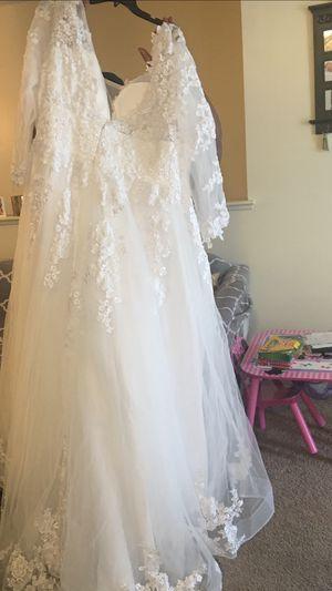 Aline style Wedding dress for Sale in Newport News, VA