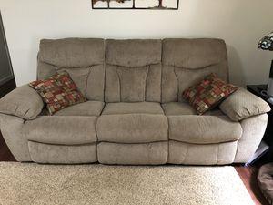 Sofa recliner w/ recliner/rocker for Sale in Petersburg, VA