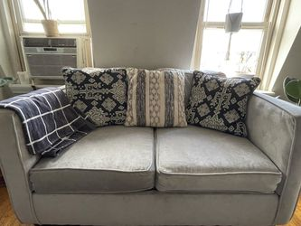 Love Seat by Serta, Comfy! Gray, Moving sale - $150 for Sale in Washington,  DC