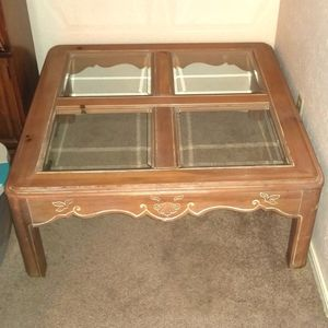 Will Seperate-Solid Wood Coffee and End Tables for Sale in Skiatook, OK
