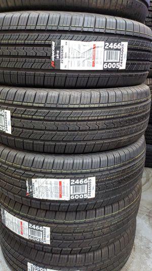 4 new tires 225.65.16 nanakang sp-9 100 % tread dot 2519 for Sale in Glendale, AZ