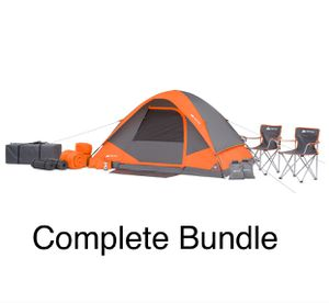 4 Person Tent Camping BBQ Summer Sleeping Bag Beach Outdoor for Sale in Azusa, CA